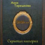 Анна Терешкова  — Скрытая империя (аудиокнига)