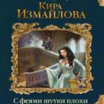 Кира Измайлова — С ФЕЯМИ ШУТКИ ПЛОХИ (аудиокнига)