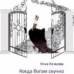 Ника Климова  —  Когда богам скучно (аудиокнига)
