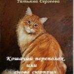 Татьяна Сергеева — КОШАЧИЙ ПЕРЕПОЛОХ, ИЛИ СНОВА СЮРПРИЗ (аудиокнига)