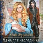 Юлия Журавлева — МАМА ДЛЯ НАСЛЕДНИКА (аудиокнига)