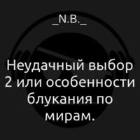 Аудиокнига Неудачный выбор 2 или особенности блукания по мирам.